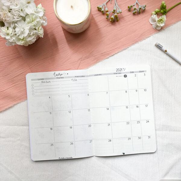 4 - Organizador mensual 6
