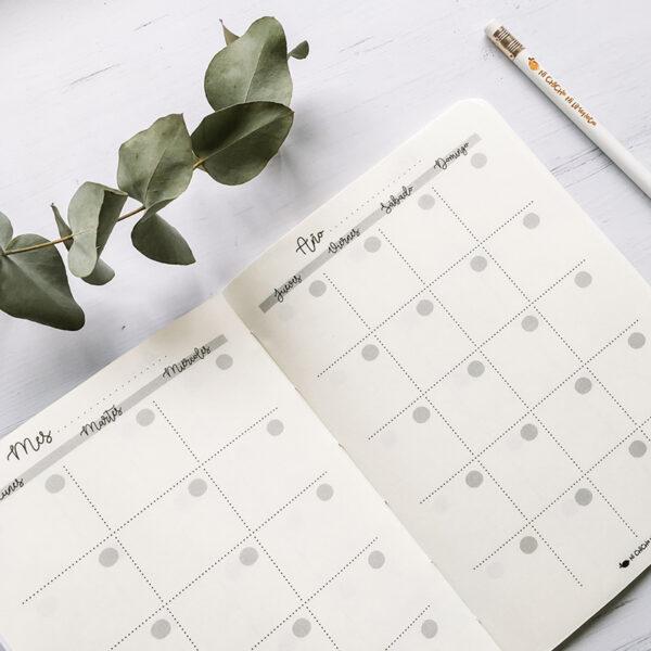 7 - Planner mensual interior