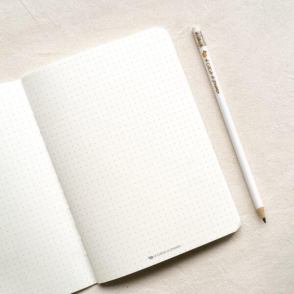 Cuaderno - Interior puntos
