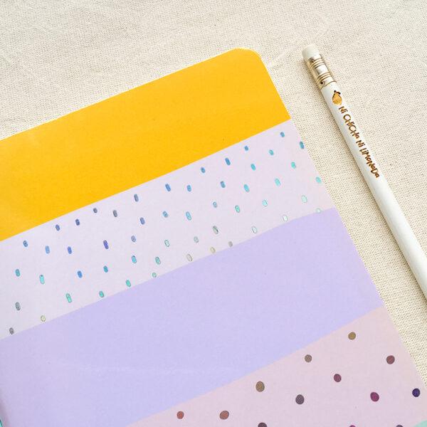 Cuaderno - Rayas aqua 2